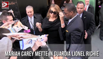 Mariah Carey mette in guardia Lionel Richie