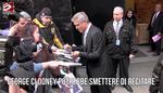 George Clooney potrebbe smettere di recitare