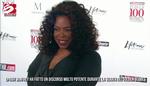 Oprah Winfrey, standing ovation ai Golden Globes